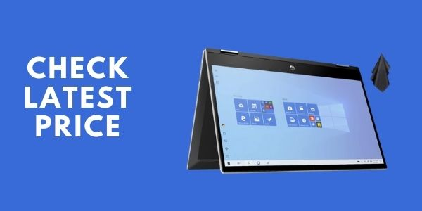 2021 Newest HP Pavilion X360 2-in-1 Convertible 14 HD Touch-Screen Laptop