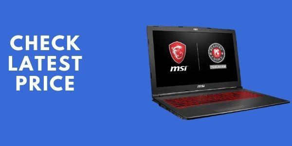 MSI GV62 8RD-200 15.6 Full HD Performance Gaming Laptop