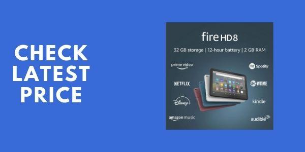 Fire HD 8 tablet, 8 HD display, 64 GB, latest model, Black