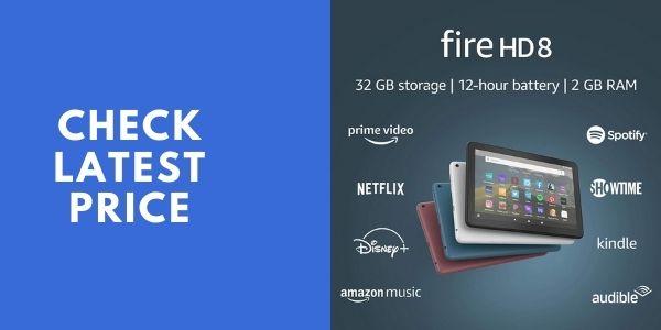 Fire HD 8 tablet, 8 HD display