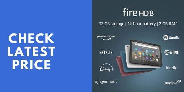 Fire HD 8 tablet