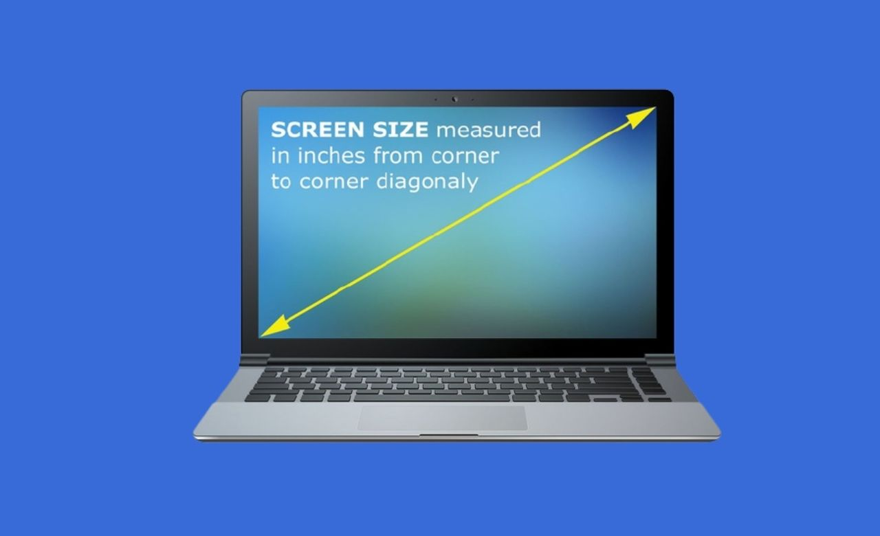What is my Laptop's screen size