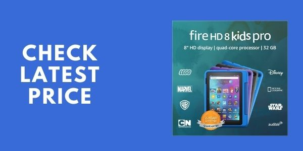 Introducing Fire HD 8 Kids Pro tablet